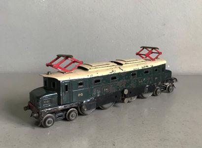 LR 1 locomotive électrique en tôle peinte...