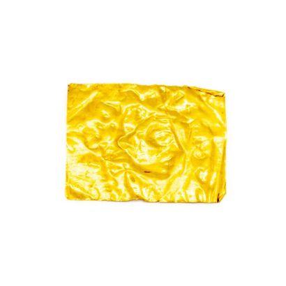 Plaque en or jaune profil Poids : 1 g.