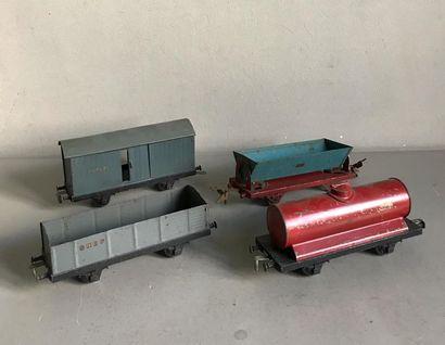 LR Ensemble de wagons pour train électrique...
