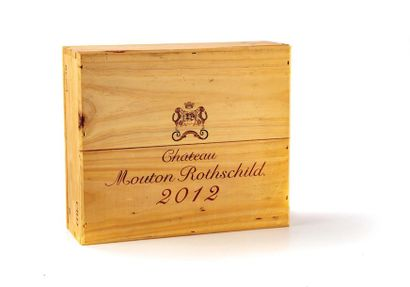 3 B CHATEAU MOUTON-ROTHSCHILD (Caisse Bois)...