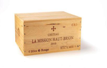 6 B CHATEAU LA MISSION HAUT-BRION (Caisse...