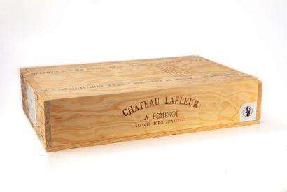 6 B CHATEAU LAFLEUR (Caisse Bois) Pomerol...