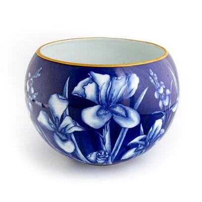 Joseph GOCIMSKI - Limoges Cache pot en porcelaine...