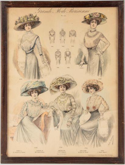 Grande Mode Parisienne  Supplément au n°111...