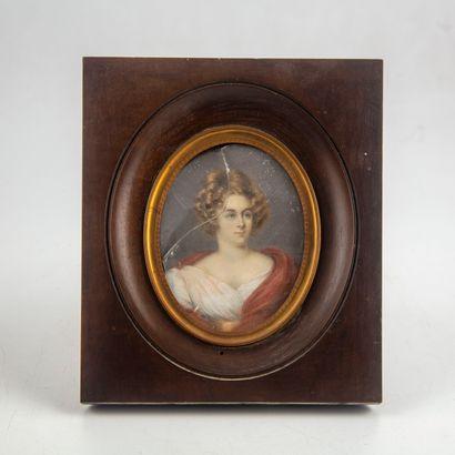 Etienne Charles LEGUAY (1762-1846)  Portrait...