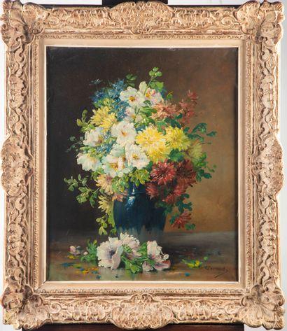 Edmond van COPPENOLLE (1843-1915)  Bouquet...