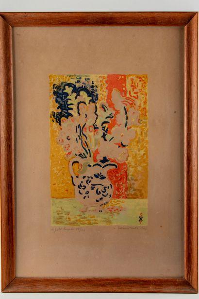 Suzanne TOURTE (1904-1979)  Le petit bouquet...