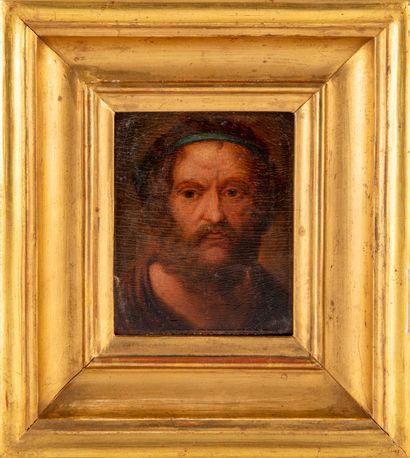 ECOLE FRANCAISE DU XIXe  Portrait d'Homère...
