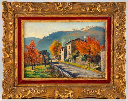 Emile BOISSELET (XXe)  La Maison du peintre...