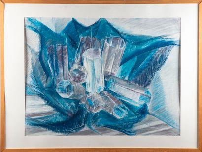 ECOLE FRANCAISE DU XXe  Composition Abstraite...