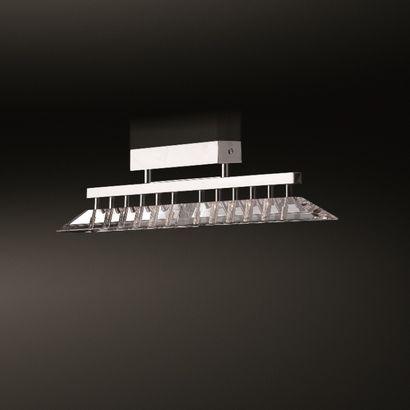 Isaac Light Plafonnier CARAT  Fabricant : Isaac Light  8 x 20W 12V G4 - Chromé et...