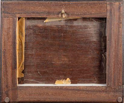 WILLEM KALF Dans le goût de Willem KALF (1619-1693)  Fumeur dans une arrière cuisine...