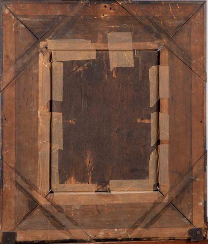 ECOLE DU NORD ECOLE DU NORD de la fin du XVIe  Portrait d'homme  Huile sur panneau,...