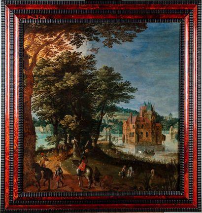 JACQUES VAN DER WYHEN Attribué à Jacques Van der WYHEN (c. 1588-mort après 1658)...