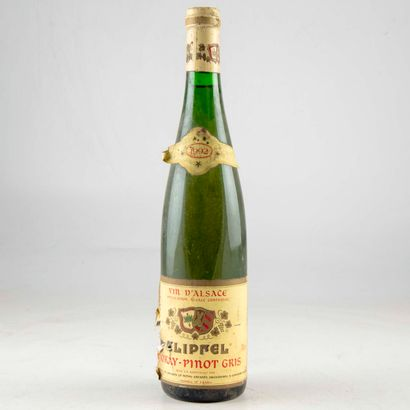 1 bouteille ALSACE 1992 Tokay-Pinot Gris...