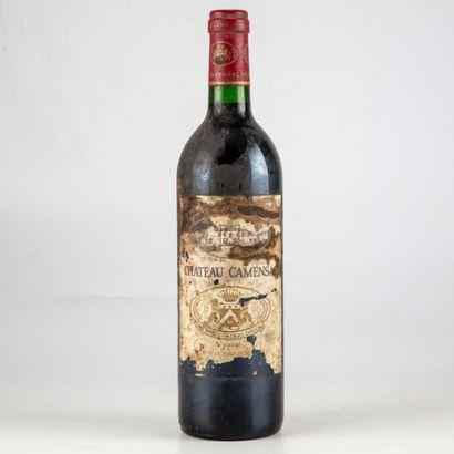 1 bouteille CHATEAU CAMENSAC 1993 Haut-Médoc...