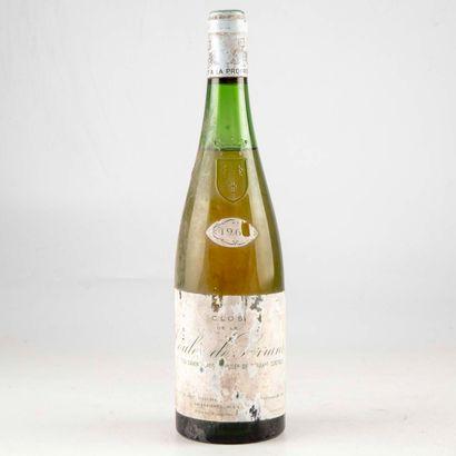1 bouteille LOIRE 196? Clos de la coulée...