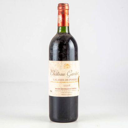 1 bouteille CHATEAU GARDOUR 1998 Lalande...