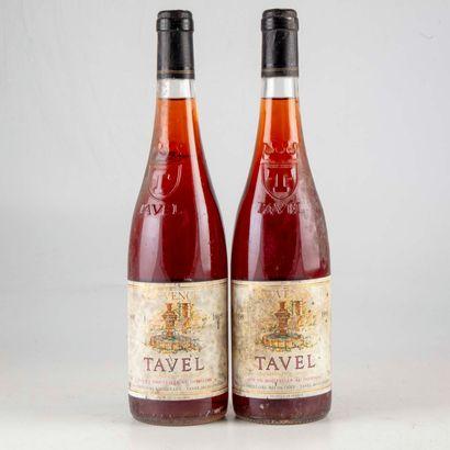 2 bouteilles CÔTES DU RHÔNE 1995 Jouvence...