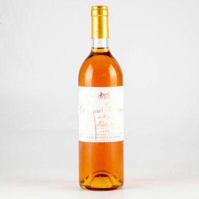 1 bouteille CHÂTEAU GUITERONDE DE HAYLOT...