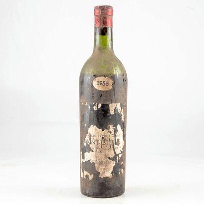 1 bouteille CHÂTEAU LA TOUR DE PEZ 1955 Saint-Estephe...