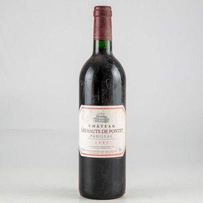 1 bouteille CHATEAU LES HAUTS DE PONTET 1995...