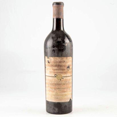 1 bouteille CHÂTEAU DES JACOBINS 1967 Pomerol...