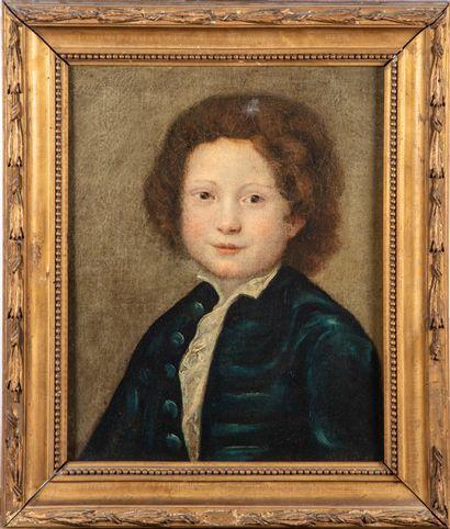 ECOLE ITALIENNE XIXe  Portrait de jeune garçon...