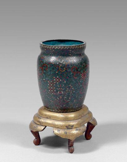 JAPON - Epoque MEIJI (1868 - 1912)  Vase...