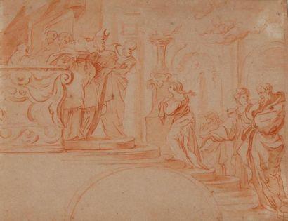 Claude LEFEBVRE (1632-1675) attribué à Présentation...