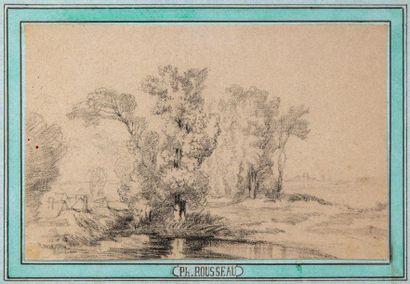 Attribué à Philippe ROUSSEAU (1816-1887)...