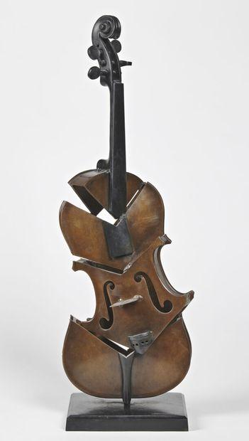 Fernandez ARMAN (1928-2005)  Untitled, 2004...