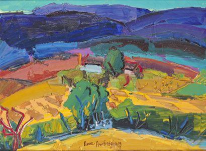 Pierre AMBROGIANI (1907-1985)  The truffle...