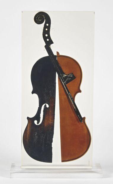 Fernandez ARMAN (1928-2005)  Dance of fire,...
