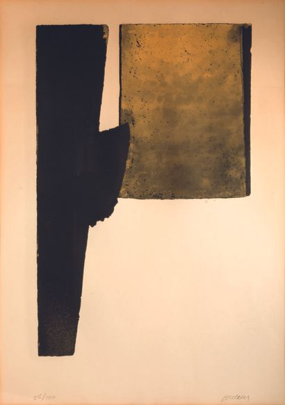 Pierre SOULAGES (born in 1919)  Etching XXXI,...