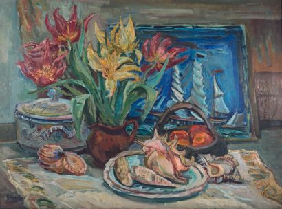 Henri EPSTEIN (1892 1944)  Still life with...