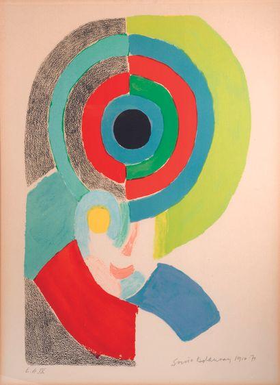 Sonia DELAUNAY (1885 -1979)  Self-portrait...
