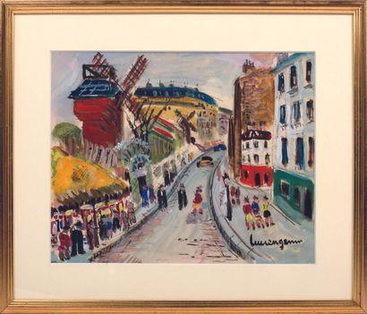 MODERN SCHOOL  Montmartre, the Moulin de...
