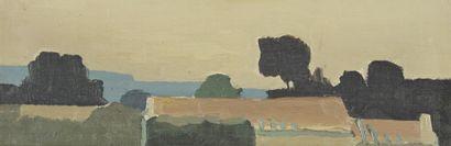 Roland BIERGE (1922-1991)  Evening, 1961...