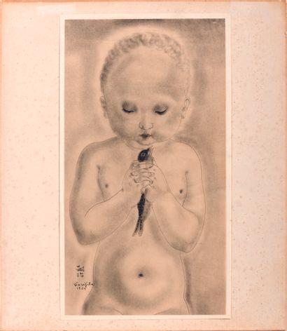 Tsuguharu Léonard FOUJITA (1886-1968)  The...