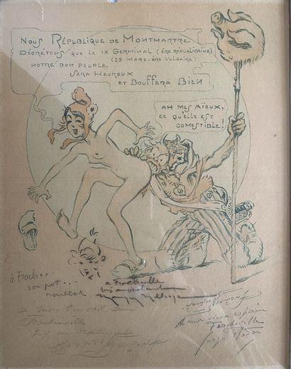 Maurice NEUMONT (1868 - 1930)  République...