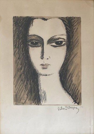 Kees VAN DONGEN (1877-1968)  La jeune fille...