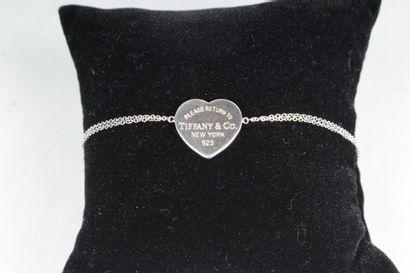 TIFFANY & Co Bracelet articulé en argent...