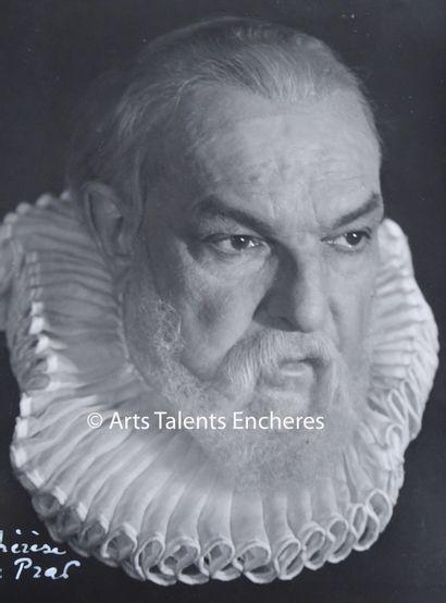 LE PRAT Thérése  Portrait de Pierre Renoir...