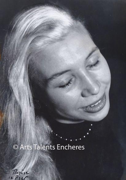 LE PRAT Thérése  Portrait de Sivia Monfort...