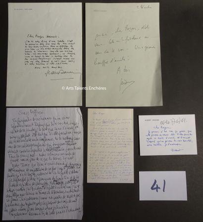 HUBERT VEDRINE - JEROME CLEMENT et divers...