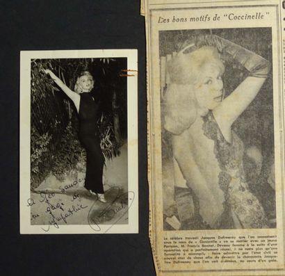 COCCINELLE  Photographie du célèbre travesti...