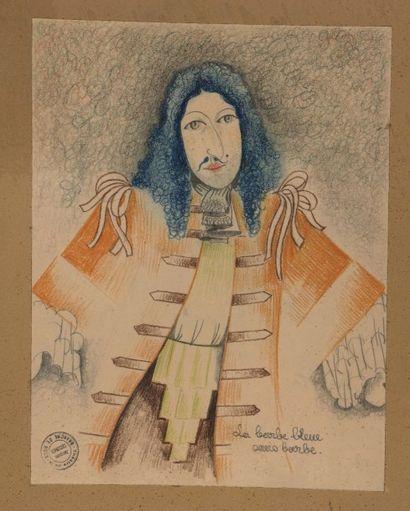 LA BRANCHE DE HOUX, 1937 Barbe Bleue sans...