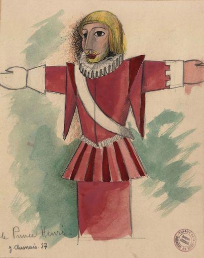 LA BRANCHE DE HOUX, 1937 Le prince Henri,...
