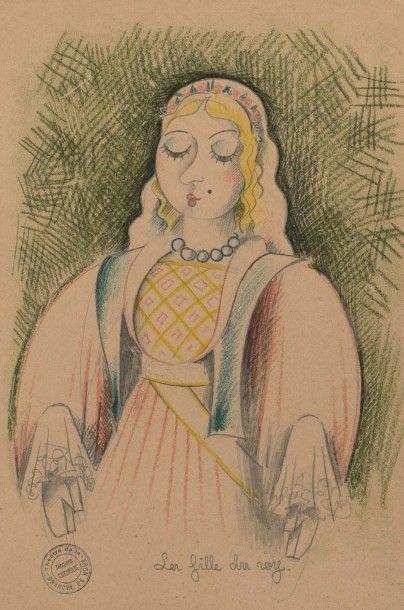 LA BRANCHE DE HOUX, 1938 La fille du roi,...